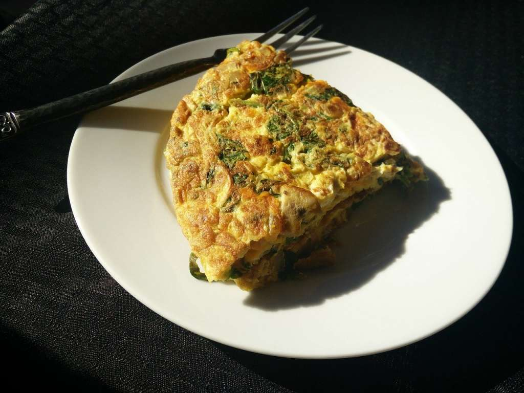 omelette iranienne